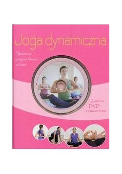 Joga dynamiczna. Książka z płytą DVD z ćwiczeniami ,NOWA