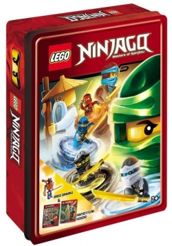LEGO (R) Ninjag. Zestaw książek z klockami Lego