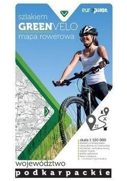Green Velo.Województwo podkarpackie 1:100 000