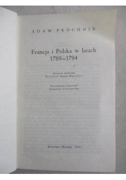 Francja i Polska w latach 1789-1794