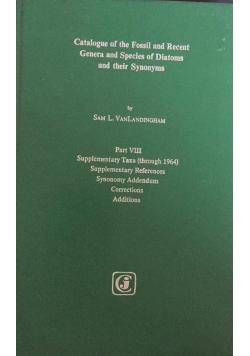 Catalogue of Diatoms