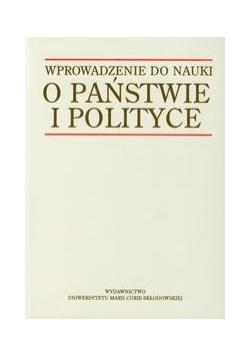 Wprowadzenie do nauki o państwie i polityce