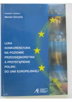 Luka konkurencyjna na poziomie przedsiębiorstwa a przystąpienie Polski do Unii Europejskiej