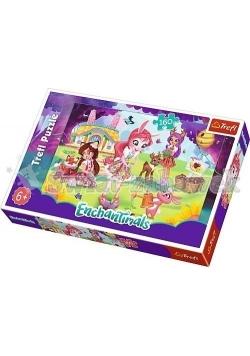 Puzzle 160 Bree, Danessa i Fel w ogrodzie TREFL