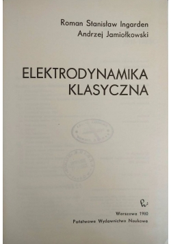 Elektrodynamika klasyczna