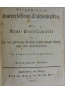 Conbersations Taschenlerikon, 1832 r.
