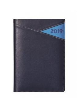 Kalendarz 2019 książkowy A5 granatowy EASY