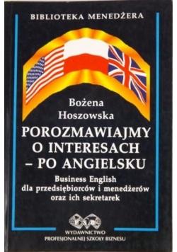 Porozmawiajmy o interesach - po angielsku