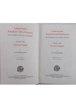 Langenscheidts Taschenworterbuch