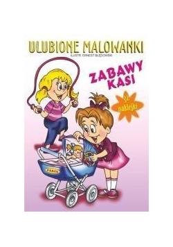 Ulubione malowanki - Zabawy Kasi