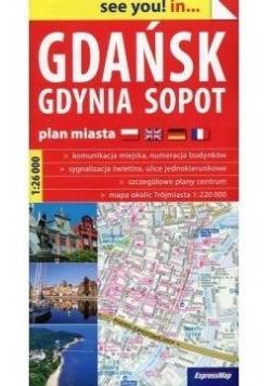 See you! in Gdańsk, Gdynia... plan miasta w.2018