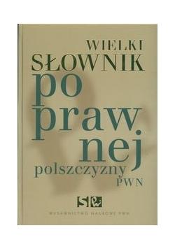 Wielki słownik poprawnej polszczyzny PWN + CD