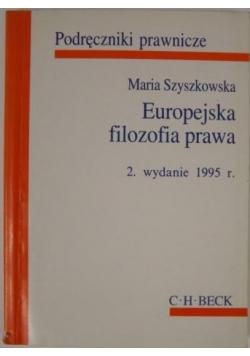 Europejska filozofia prawa
