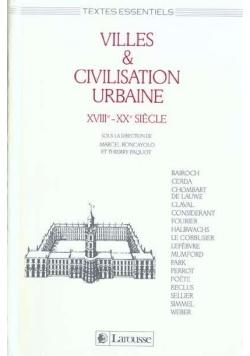 Villes & Civilisation Urbaine