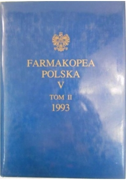 Farmakopea Polska V , Tom II