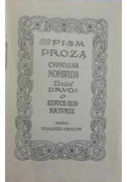 Pisma zebrane, 1911 r.