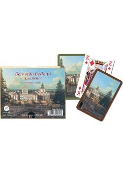 """Karty standard """"Canaletto - Pałac"""" PIATNIK"""