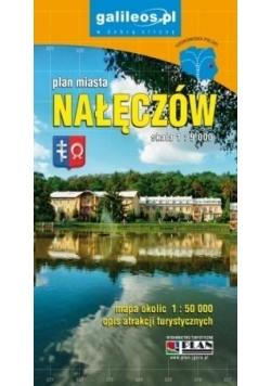 Plan miasta - Nałęczów 1:9 000 w.2017