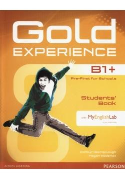Gold Experience B1+ Students Book + DVD + MyEnglishLab