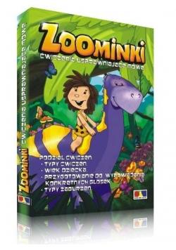 ZOOminki - ćwiczenia usprawniające mowę DVD
