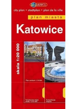 Plan Miasta DAUNPOL. Katowice br