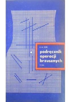 Podręcznik operacji brzusznych
