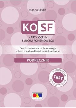 KOSF - Karty oceny słuchu fonemowego