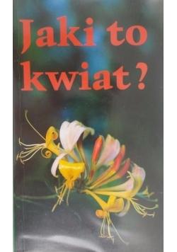 Jaki to kwiat?