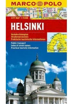 Plan Miasta Marco Polo. Helsinki