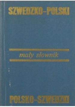 Mały słownik szwedzko - polski
