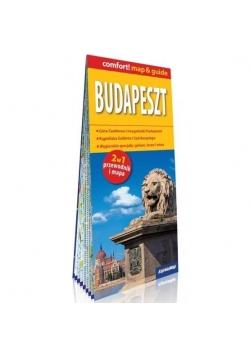 Comfort! map & guide Budapeszt 2w1 mapa w.2018