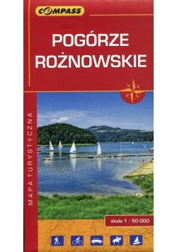 Pogórze Rożnowskie mapa turystyczna 1:50 000