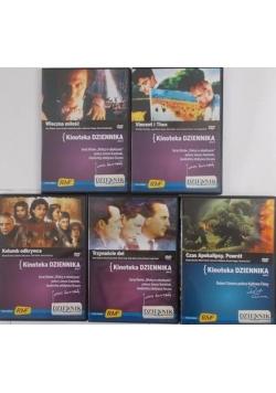 Kinoteka Dziennika, zestaw 5 płyt DVD