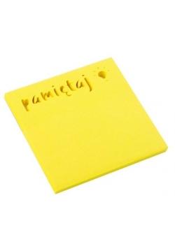 Notes samoprzylepny 75x75mm Pamiętaj D.RECT