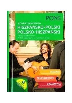 Słownik uniwersalny hiszp-pol-hiszp TW PONS