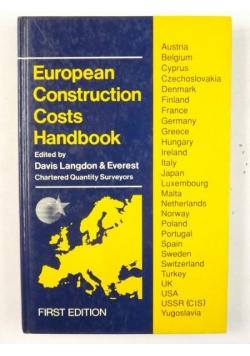 European Construction Costs Handbook