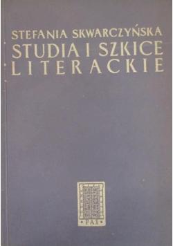 Studia i szkice literackie