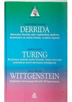 Derrida, Turing, Wittgenstein - Wielcy filozofowie