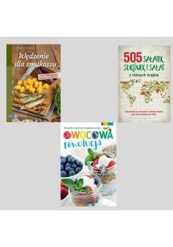 Wedzenie dla smakoszy / Owocowa rewolucja / 505 sałatek, surówek i sałat z różnych