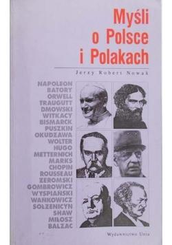 Myśli o Polsce i Polakach