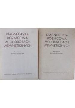 Diagnostyka różnicowa w chorobach wewnętrznych. Tom I-II