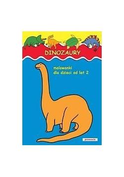 Malowanki - Dinozaury w.2011