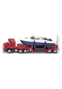 Siku 16 - Laweta z łodzią S1613