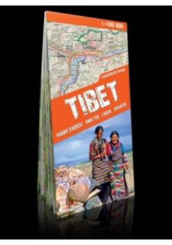 Trekking map Tybet 1:400 000 mapa