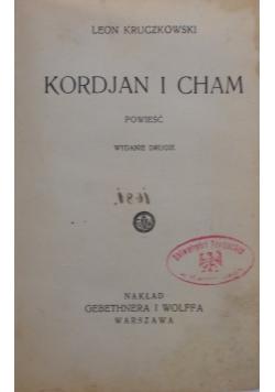 Kordian i cham, 1933 r.