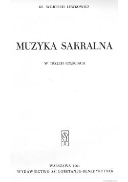 Muzyka sakralna