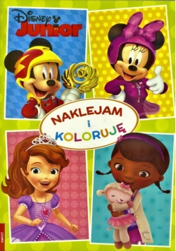 Naklejam i koloruję. Disney Junior