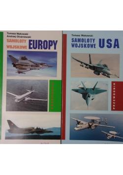 Samoloty wojskowe, 2 książki