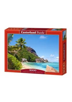Puzzle 3000 Plaża tropikalna CASTOR