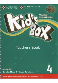 Kids Box 4 Teacher's Book